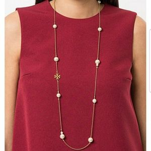 Tory Burch Rosary necklace